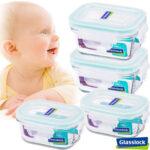 Glasslock寶寶副食品專用微波保鮮盒