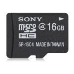 SONY 16GB microSDHC Class4 記憶卡