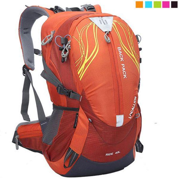 【PUSH】嚴選40L登山背包 登山包 自助旅行背包 雙肩背包 露營包