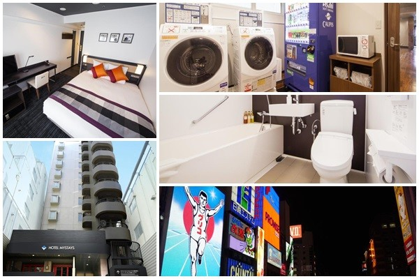【日本關西住宿】難波心齋橋滿意飯店(Hotel MyStays Shinsaibashi)