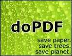 【免費更新下載】 doPDF 8.5.939 將文件轉成PDF檔