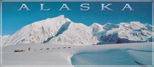 Postcrossing 明信片跨國交換平台收到第七張來自美國阿拉斯加州的明信片
