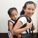 無感揹負嬰兒MiaMily健康護脊嬰兒背帶- 瑞士品牌撐腰設計 給您強大支撐力