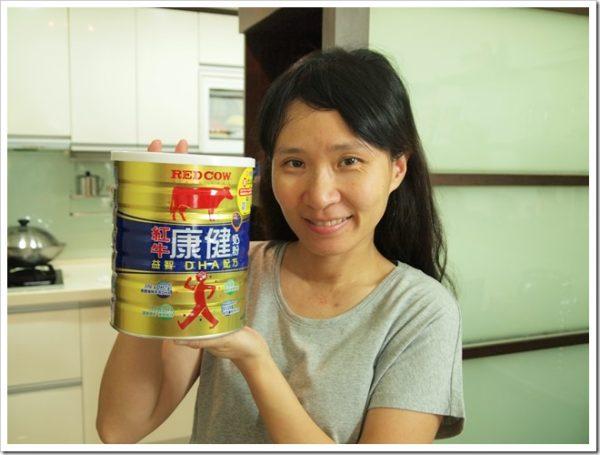 早晚一杯輕鬆健康補給紅牛康健奶粉益智DHA配方