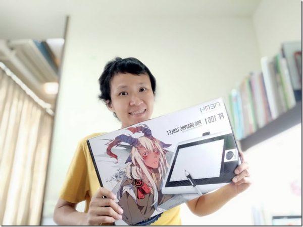 電繪推薦-專業軟體為何要選AERY PF1061大繪圖板?