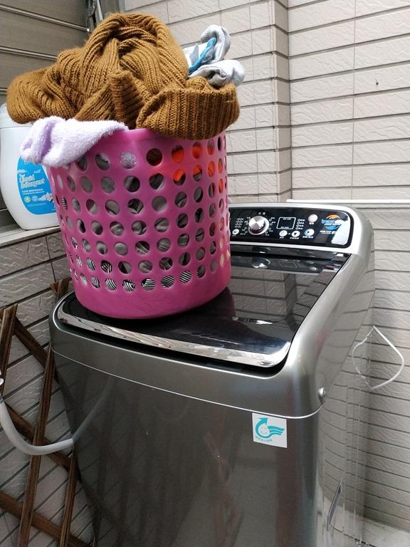 手洗、機洗一次搞定,禾聯手洗式洗衣機,含槽洗淨功能,10.5公斤大容量洗衣, 洗衣不打結